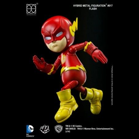 JUSTICE LEAGUE - THE FLASH HYBRID METAL FIGURATION ACTION FIGURE