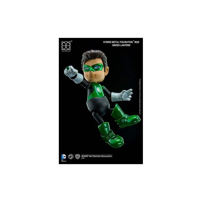 HEROCROSS JUSTICE LEAGUE - GREEN LANTERN HYBRID METAL FIGURATION ACTION FIGURE