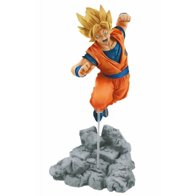 DRAGON BALL SUPER - SUPER SAIYAN SON GOKU SOUL X SOUL STATUE FIGURE BANPRESTO