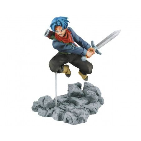 DRAGON BALL SUPER - TRUNKS SOUL X SOUL STATUE FIGURE