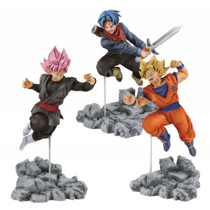 DRAGON BALL SUPER - TRUNKS SOUL X SOUL STATUE FIGURE BANPRESTO