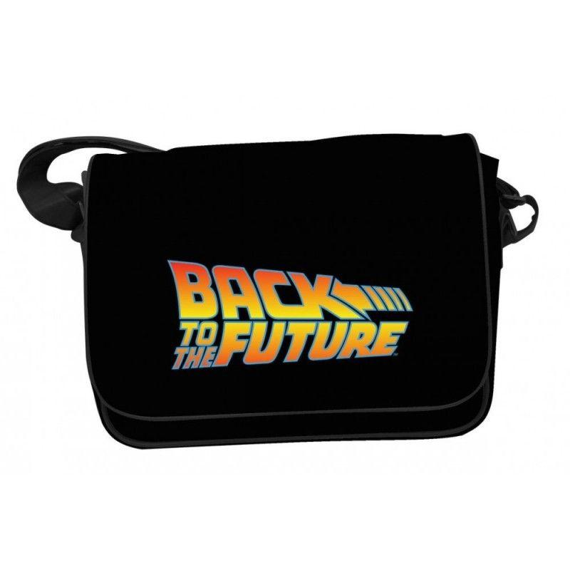 BACK TO THE FUTURE LOGO MAILBAG - BORSA A TRACOLLA RITORNO AL FUTURO