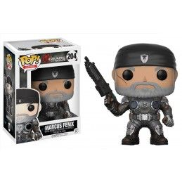 FUNKO FUNKO POP! GEARS OF WAR - MARCUS FENIX BOBBLE HEAD KNOCKER FIGURE
