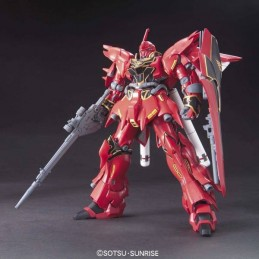 HIGH GRADE HGUC GUNDAM MSN-06S SINANJU 1/144 MODEL KIT