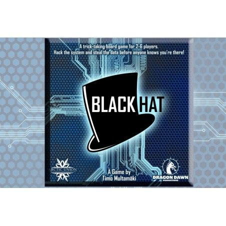 BLACK HAT BOARDGAME GIOCO DA TAVOLO INGLESE ENGLISH