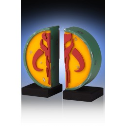 STAR WARS MANDALORIAN BOOKENDS FERMALIBRI LIMITED EDITION