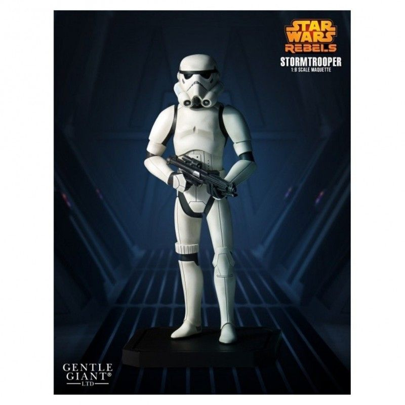 GENTLE GIANT STAR WARS REBELS - STORMTROOPER MAQUETTE SCALA 1:8 STATUE FIGURE