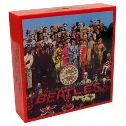 BEATLES - SERGENT PEPPER COVER COIN BANK SALVADANAIO FACTORY ENTERTAINMENT