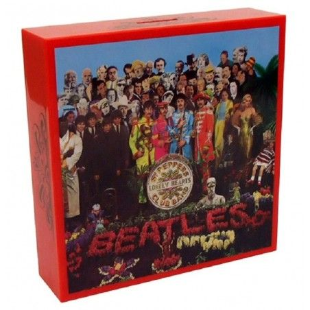 BEATLES - SERGENT PEPPER COVER COIN BANK SALVADANAIO