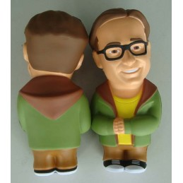 THE BIG BANG THEORY LEONARD STRESS DOLL 10 CM FIGURE ANTISTRESS
