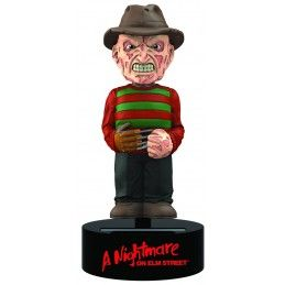 NIGHTMARE FREDDY KRUEGER BODY KNOCKER BOBBLE HEAD ACTION FIGURE NECA