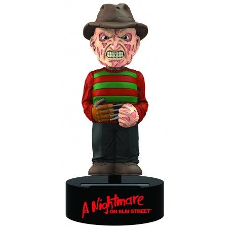 NIGHTMARE FREDDY KRUEGER BODY KNOCKER BOBBLE HEAD ACTION FIGURE