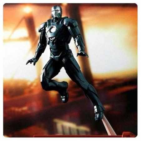 IRON MAN MARK 16 STEALTH DIORAMA STATUE FIGURE