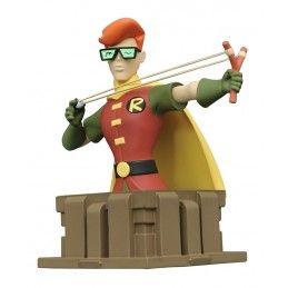 DIAMOND SELECT BATMAN THE ANIMATED SERIES THE DARK KNIGHT ROBIN CARRIE RESIN STATUE BUST FIGURE