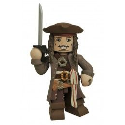 I PIRATI DEI CARAIBI - JACK SPARROW VINIMATE ACTION FIGURE DIAMOND