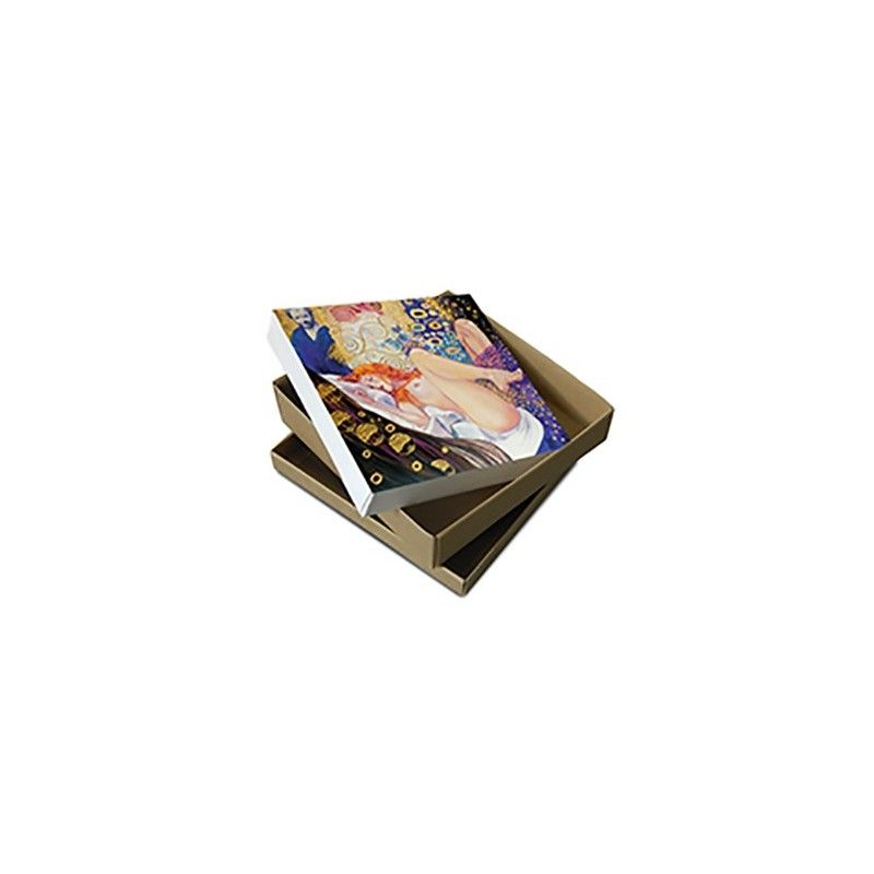 MILO MANARA ART ON CANVAS - KLIMT GIFT BOX STAMPA SU TELA 23.5X23.5 COMIXANDO