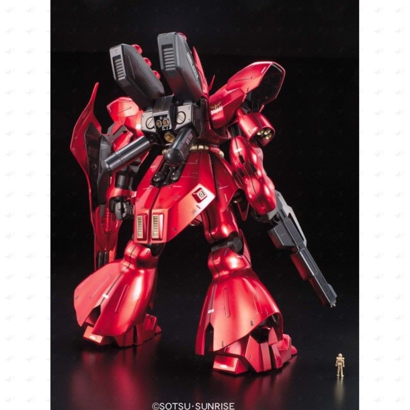 BANDAI MASTER GRADE MG GUNDAM MSN-04 SAZABI METALLIC COATING 1/100 MODEL KIT