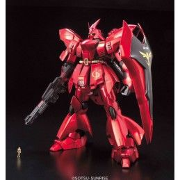 MASTER GRADE MG GUNDAM MSN-04 SAZABI METALLIC COATING 1/100 MODEL KIT BANDAI