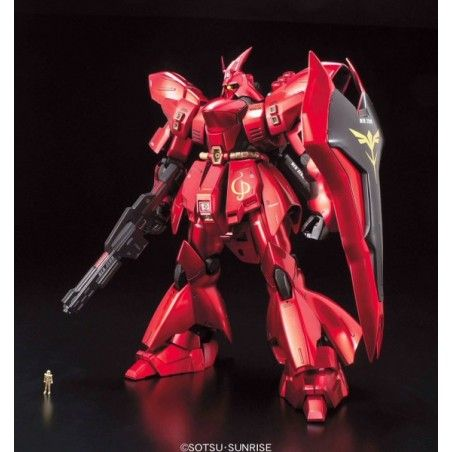 MASTER GRADE MG GUNDAM MSN-04 SAZABI METALLIC COATING 1/100 MODEL KIT