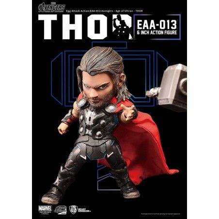 AVENGERS AGE OF ULTRON - THOR EGG ATTACK ACTION FIGURE