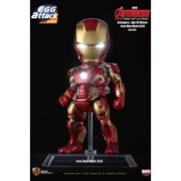 AVENGERS AGE OF ULTRON - IRON MAN MARK 43 EGG ATTACK ACTION FIGURE BEAST KINGDOM