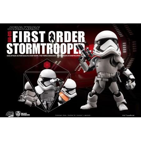 STAR WARS EPISODE VII - FIRST ORDER STORMTROOPER EGG ATTACK ACTION FIGURE
