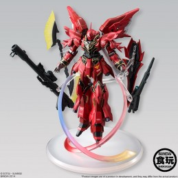 GUNDAM UNICORN SINANJU SHOKUGAN ACTION FIGURE BANDAI