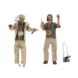 THE TEXAS CHAINSAW MASSACRE - NUBBINS SAWYER AND HITCHIKER ACTION FIGURE