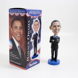 ROYAL BOBBLES BARACK OBAMA HEADKNOCKER BOBBLE HEAD ACTION FIGURE