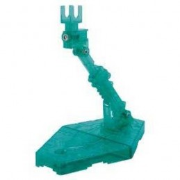 GUNDAM MODEL KIT ACTION BASE SPARKLE GREEN PER MASTER E HIGH GRADE BANDAI