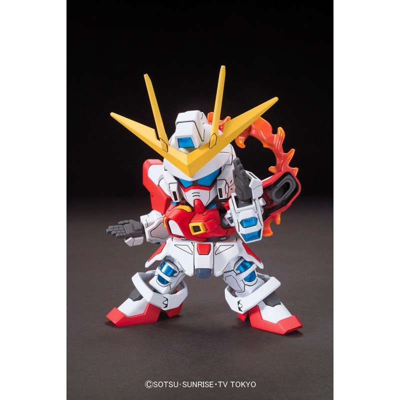 BANDAI LEGEND BB GUNDAM BUILD BURNING 10 CM MODEL KIT ACTION FIGURE