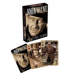 JOHN WAYNE PLAYING CARDS MAZZO CARTE DA GIOCO
