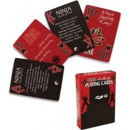 NINJA HEALTH TIPS PLAYING CARDS MAZZO CARTE DA GIOCO