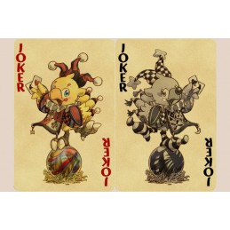 FINAL FANTASY CHOCOBO PLAYING CARDS MAZZO CARTE DA GIOCO
