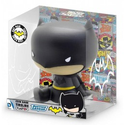 BATMAN CHIBI BANK SALVADANAIO FIGURE PLASTOY