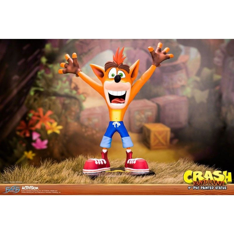 CRASH BANDICOOT 25 CM STATUE FIGURE FIRST4FIGURES
