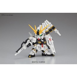 BANDAI LEGEND BB NU GUNDAM 10 CM MODEL KIT ACTION FIGURE