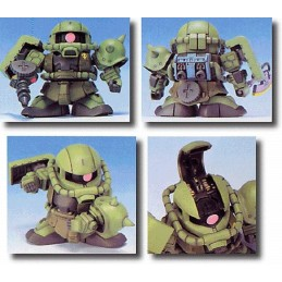 LEGEND BB GUNDAM ZAKU MS-06F 10 CM MODEL KIT ACTION FIGURE BANDAI