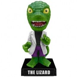 FUNKO LIZARD SPIDERMAN BOBBLE HEAD MARVEL ACTION FIGURE