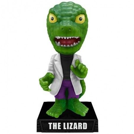LIZARD SPIDERMAN BOBBLE HEAD MARVEL ACTION FIGURE