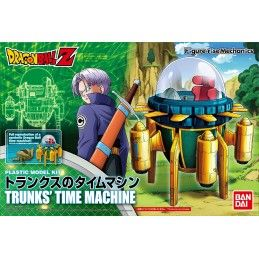 DRAGON BALL Z - RISE TRUNKS TIME MACHINE MODEL KIT FIGURE BANDAI