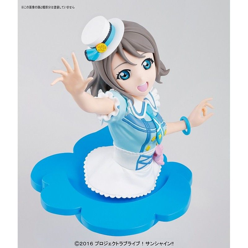 FIGURE RISE LOVE LIVE - YOU WATANABE BUST MODEL KIT ACTION FIGURE BANDAI