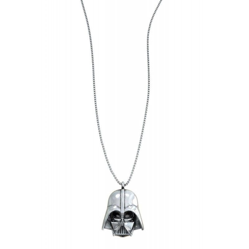 SD TOYS STAR WARS DARTH VADER SILVER NECKLACE COLLANA