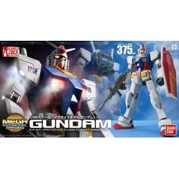 BANDAI MEGA SIZE MODEL MSM GUNDAM RX-78-2 1/48 MODEL KIT FIGURE