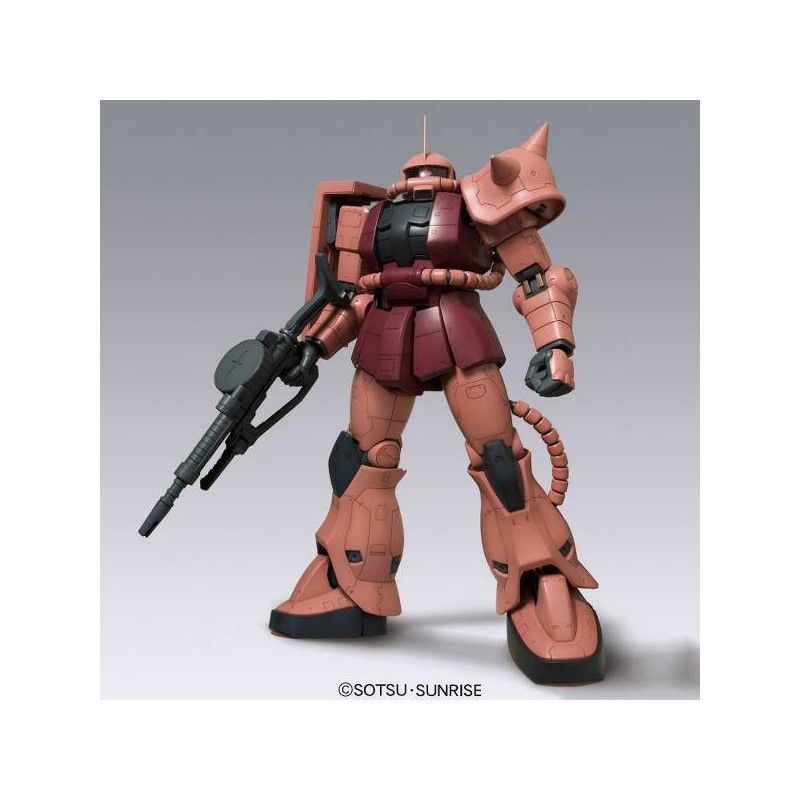 MEGA SIZE MODEL MSM GUNDAM MS-06S ZAKU II CHAR'S CUSTOM 1/48 MODEL KIT BANDAI