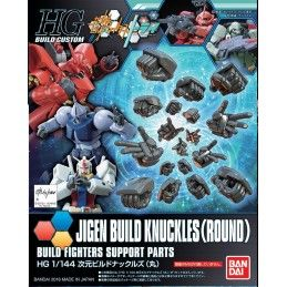 HIGH GRADE HG GUNDAM JIGEN BUILD KNUCKLES 1/144 MODEL KIT FIGURE BANDAI
