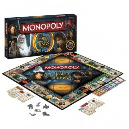 MONOPOLY THE LORD OF THE RINGS GIOCO DA TAVOLO INGLESE ENGLISH