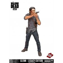 MC FARLANE THE WALKING DEAD TV VERSION GLENN LEGACY EDITION DELUXE ACTION FIGURE