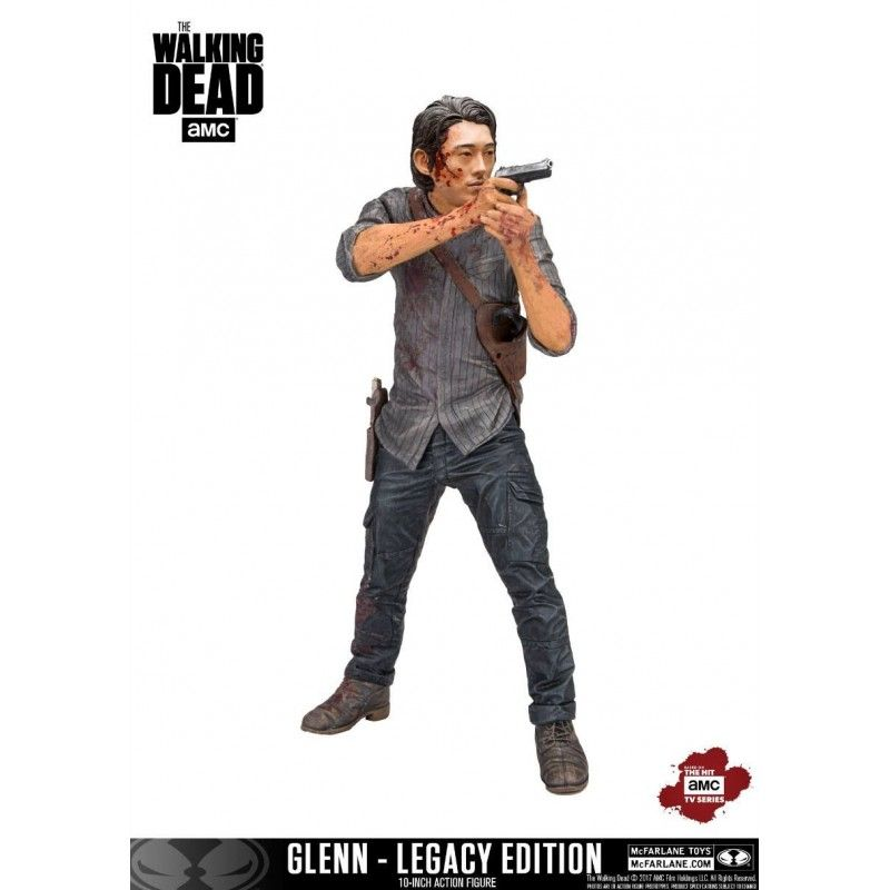 THE WALKING DEAD TV VERSION GLENN LEGACY EDITION DELUXE ACTION FIGURE MC FARLANE