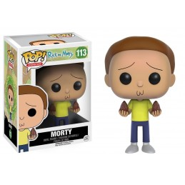 FUNKO POP! RICK AND MORTY - MORTY 113 BOBBLE HEAD KNOCKER FIGURE